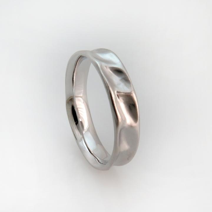 טבעת נישואים דגם סאטן