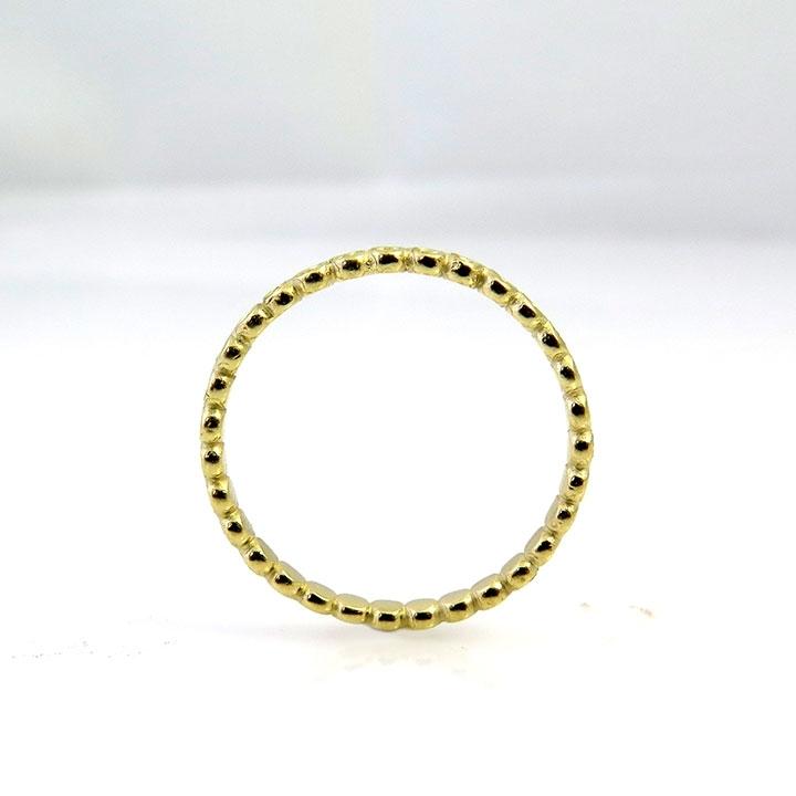 טבעת יהלום בצורת נקודות