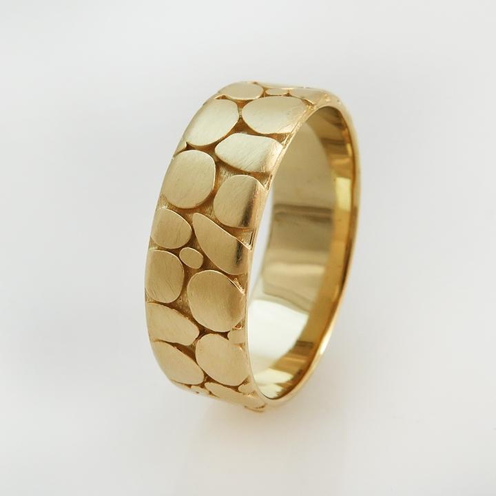 טבעת נישואים דגם Pabbels