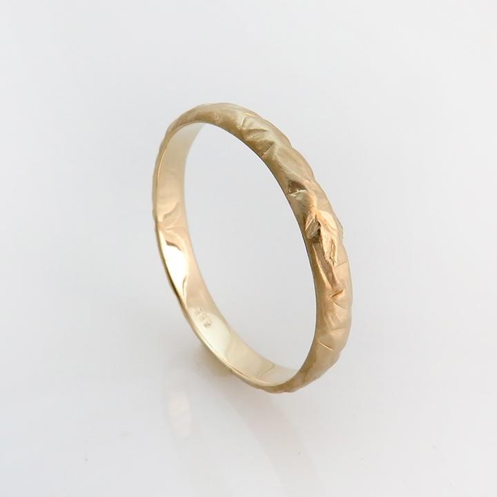 טבעת נישואים דגם WILD