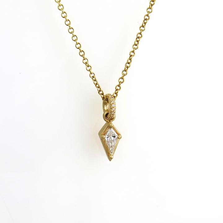 שרשרת יהלום בחיתוך KITE (עפיפון)