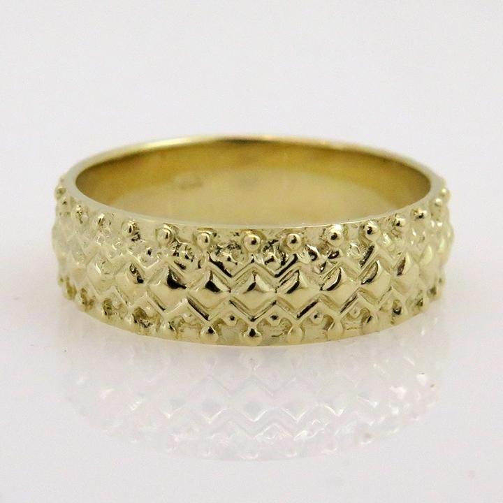 טבעת נישואים בסגנון ג'יפסי