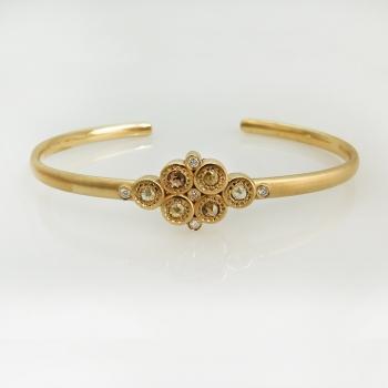 צמיד זהב 18K ויהלומים Treasure