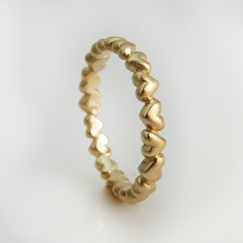 טבעת נישואים hearts
