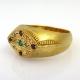 טבעת חותם עם חריטות יחודית