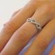 טבעת יהלום מסוג Infinity